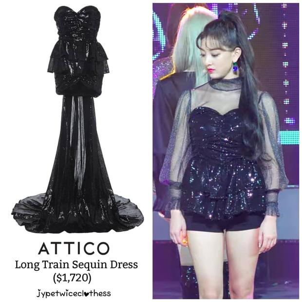 """Đỉnh cao """"phá đồ hiệu"""" nào bằng stylist của Twice: Cắt váy hiệu thành váy chợ, biến Tzuyu thành trò hề trên sân khấu - Ảnh 7."""