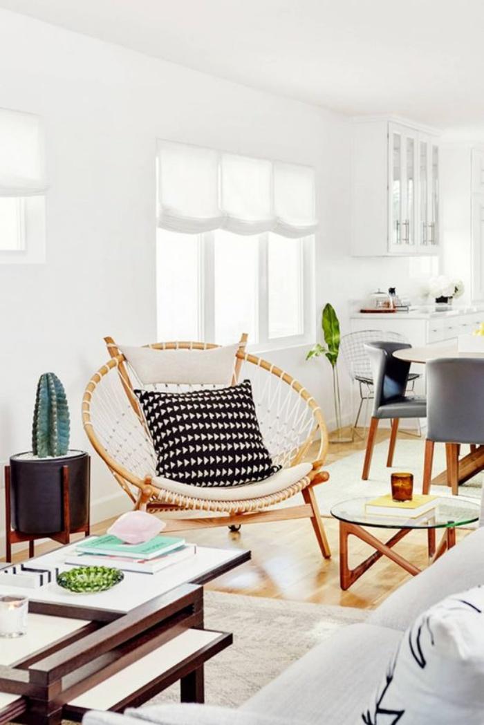 Tạo không gian thư giãn đẹp như tranh vẽ với ghế Papasan - Ảnh 9.