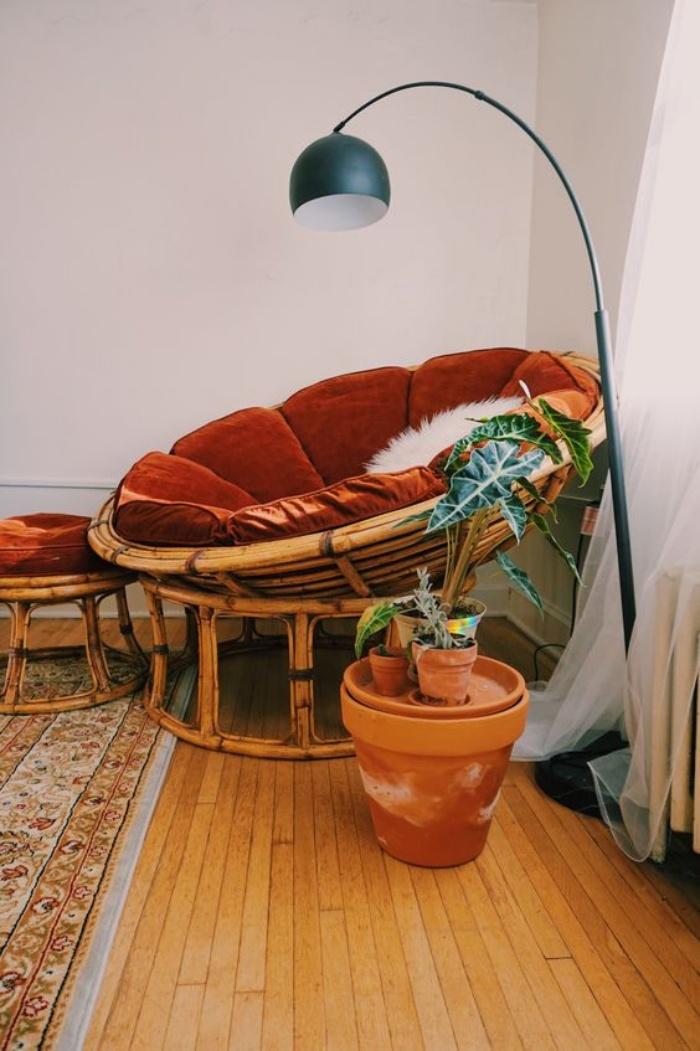 Tạo không gian thư giãn đẹp như tranh vẽ với ghế Papasan - Ảnh 10.