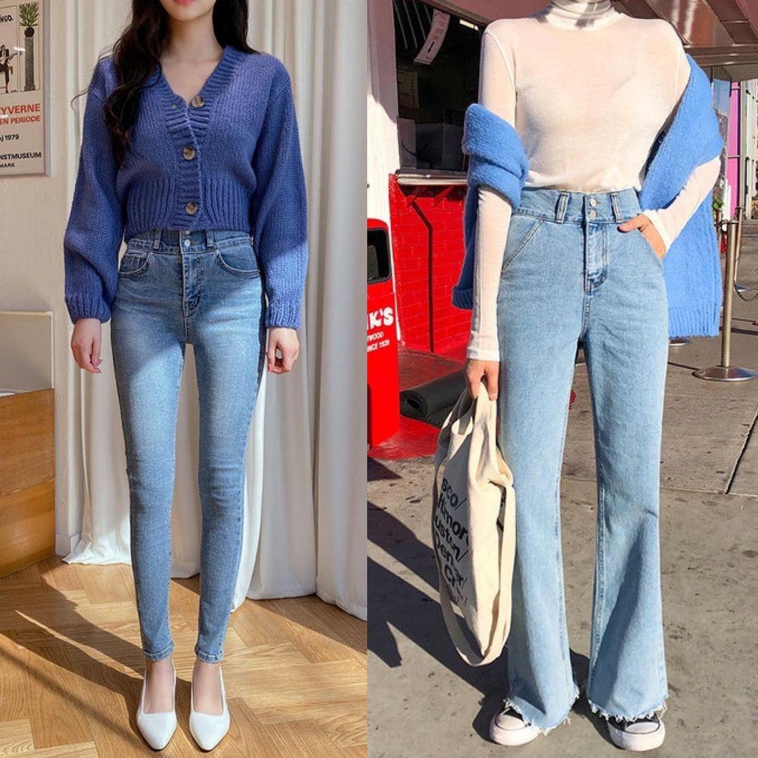 Cuối năm đi mua quần jeans, chị em cần 4 mẹo sau để tìm được item tôn dáng, giá rẻ mà mặc sang như đồ đắt tiền - Ảnh 3.