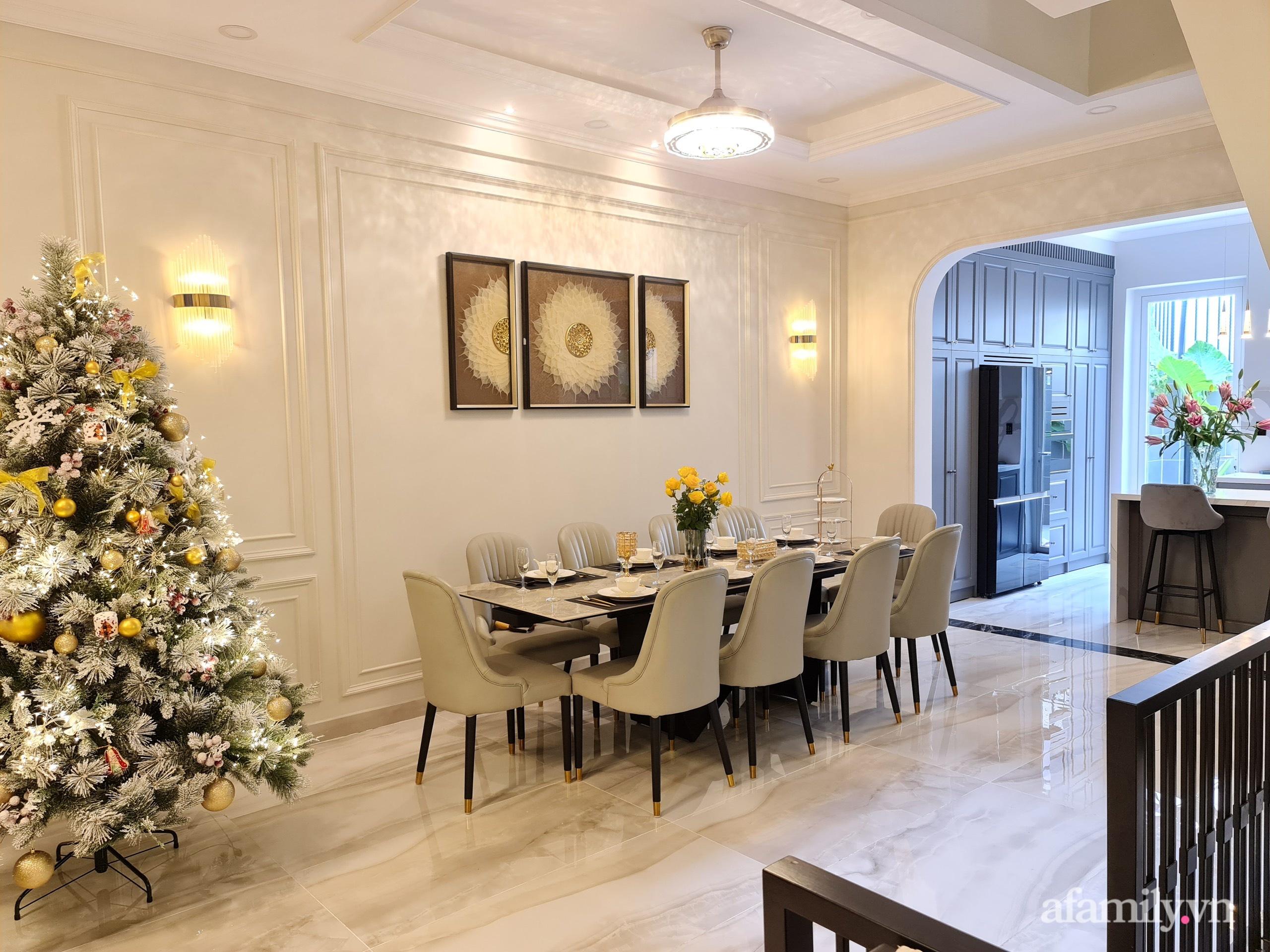 Nhà phố 78m² đẹp tiện nghi góc nào cũng chill với phong cách tân cổ điển ở Sài Gòn - Ảnh 8.