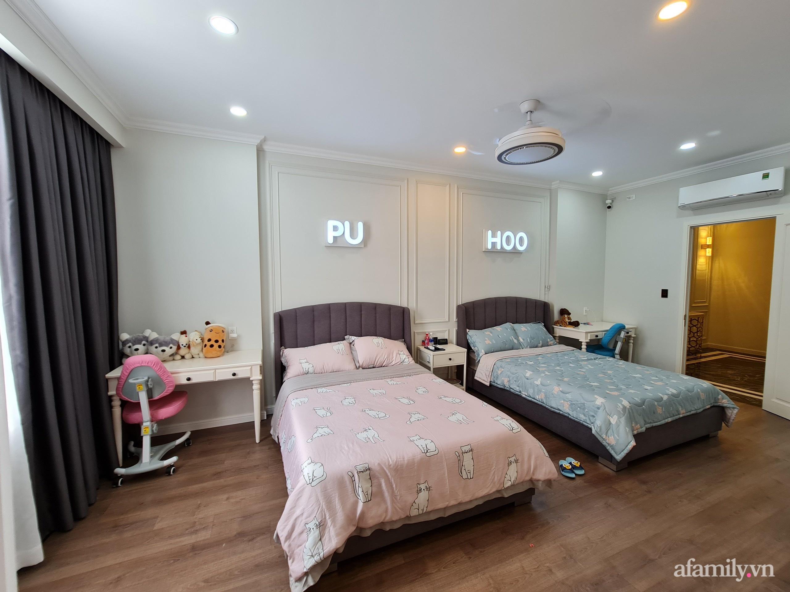 Nhà phố 78m² đẹp tiện nghi góc nào cũng chill với phong cách tân cổ điển ở Sài Gòn - Ảnh 16.