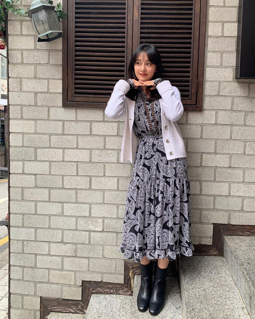 Mix & Phối - Style của Kim Ji Won trong phim mới: Đơn giản mà siêu xinh tươi lãng mạn, nhìn là muốn học theo bằng hết - chanvaydep.net 8