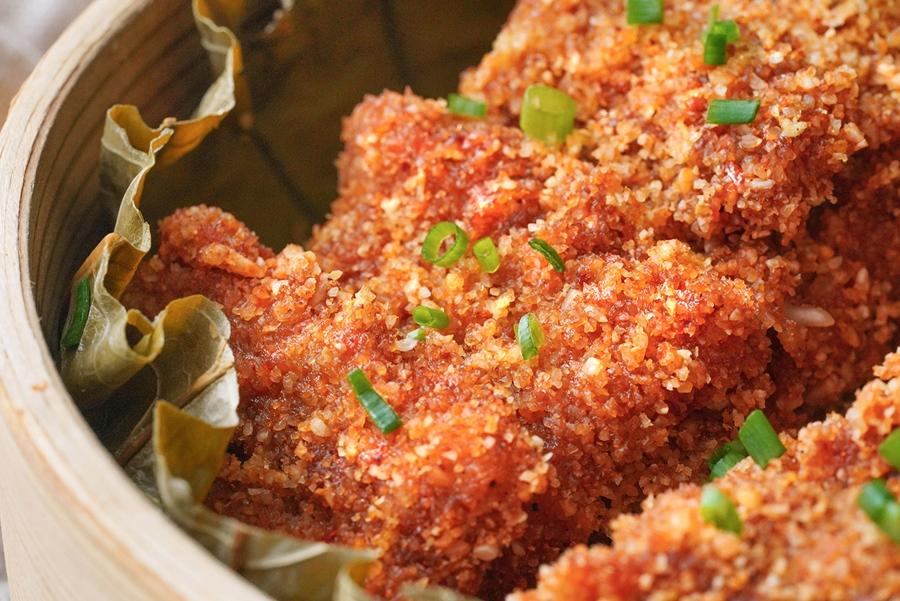 Bữa tối ngày lạnh chỉ cần làm một món thịt hấp kiểu này vừa nóng hổi lại ngon cơm - Ảnh 5.