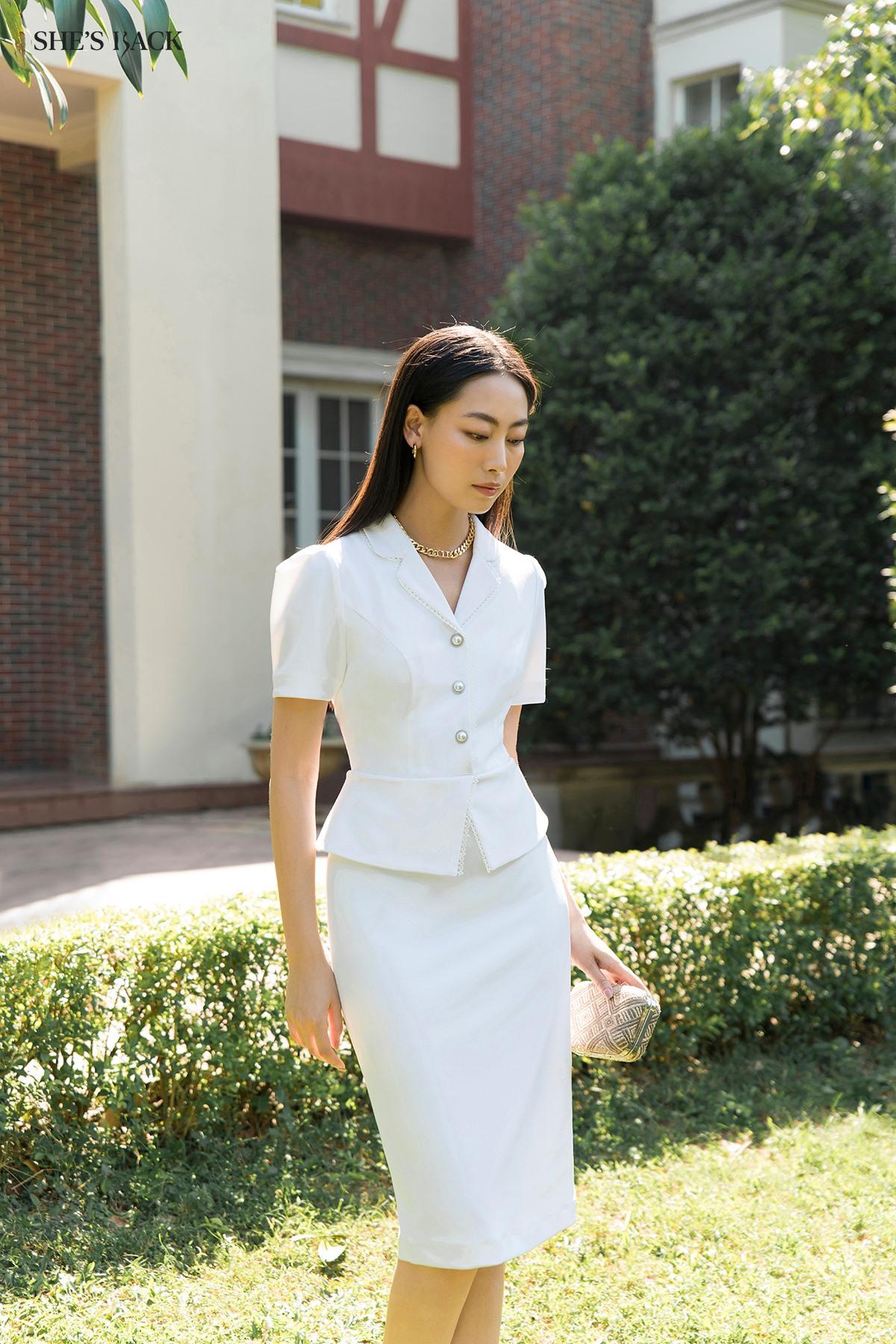 5 địa chỉ sắm váy trắng xinh lung linh cho các nàng diện đẹp dịp Tất niên cuối năm  - Ảnh 1.