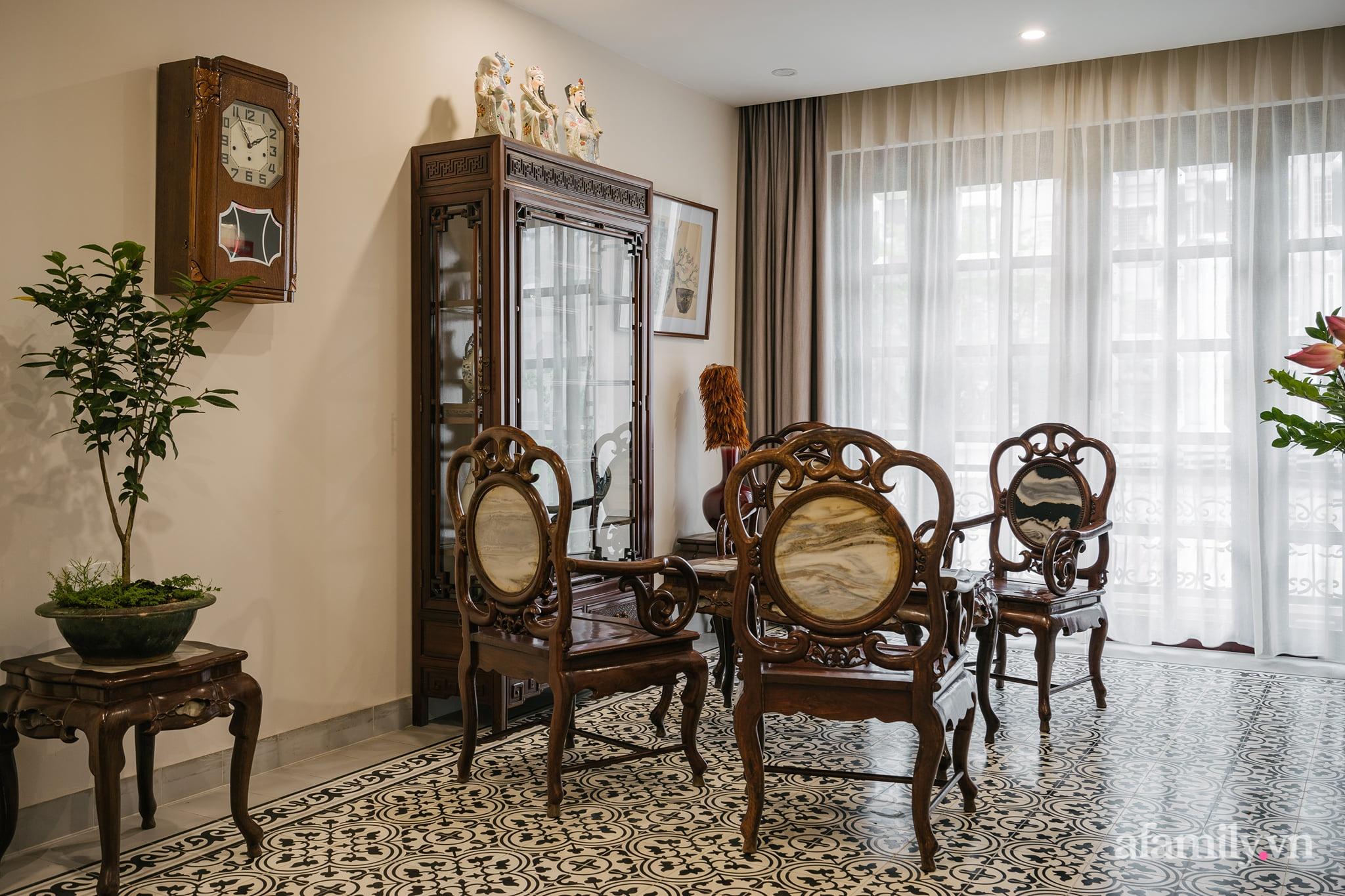 Căn nhà của miền ký ức được xây dựng từ lòng hiếu thảo của con trai dành cho bố mẹ ở Long Biên, Hà Nội - Ảnh 6.