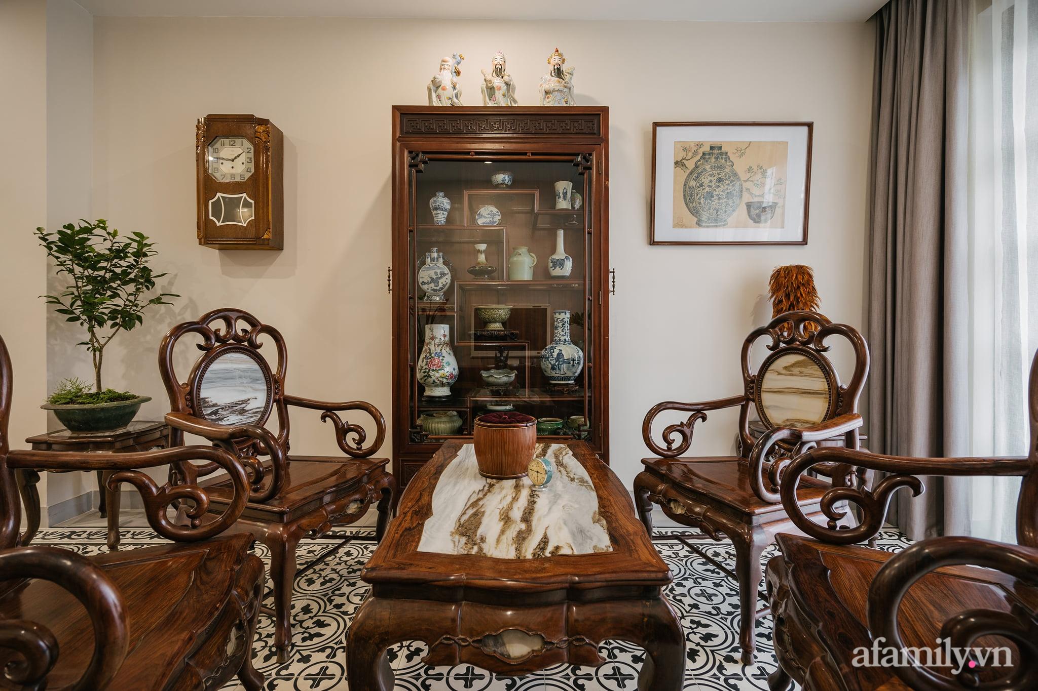 Căn nhà của miền ký ức được xây dựng từ lòng hiếu thảo của con trai dành cho bố mẹ ở Long Biên, Hà Nội - Ảnh 5.