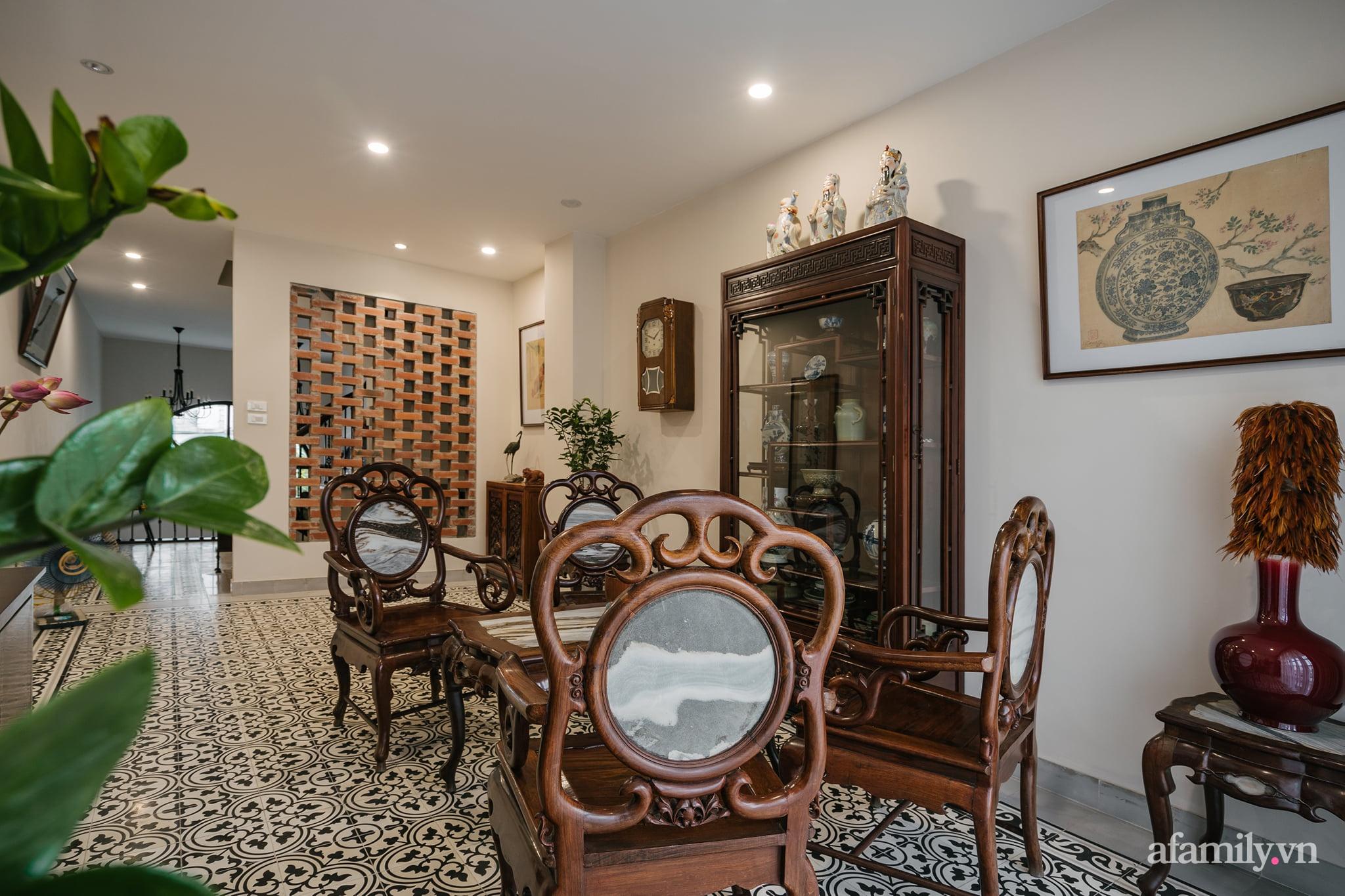 Căn nhà của miền ký ức được xây dựng từ lòng hiếu thảo của con trai dành cho bố mẹ ở Long Biên, Hà Nội - Ảnh 3.