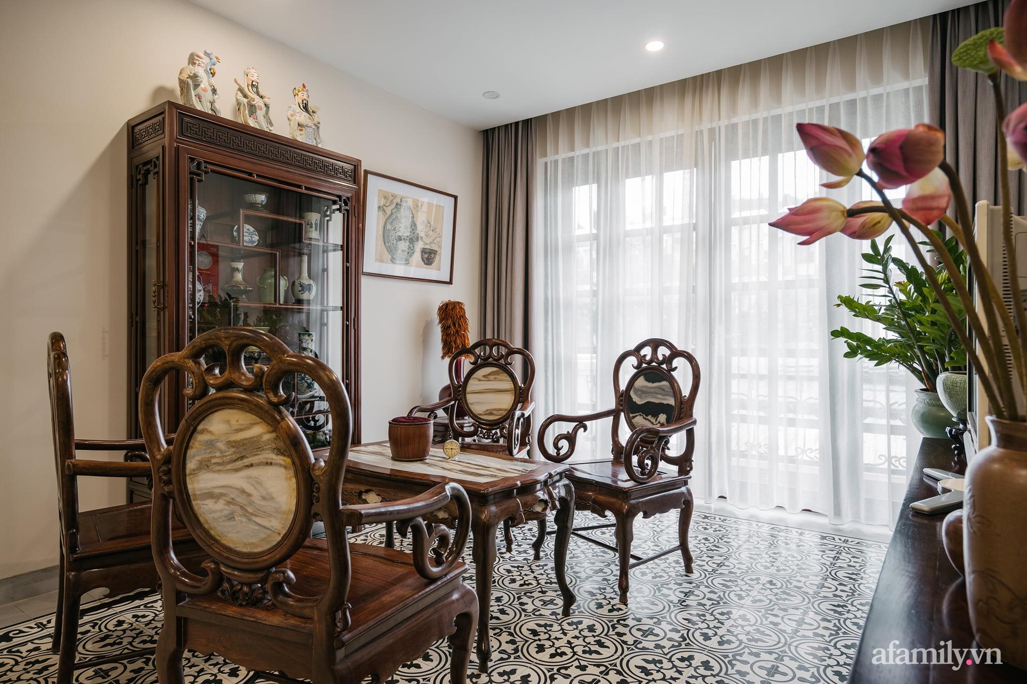Căn nhà của miền ký ức được xây dựng từ lòng hiếu thảo của con trai dành cho bố mẹ ở Long Biên, Hà Nội - Ảnh 4.