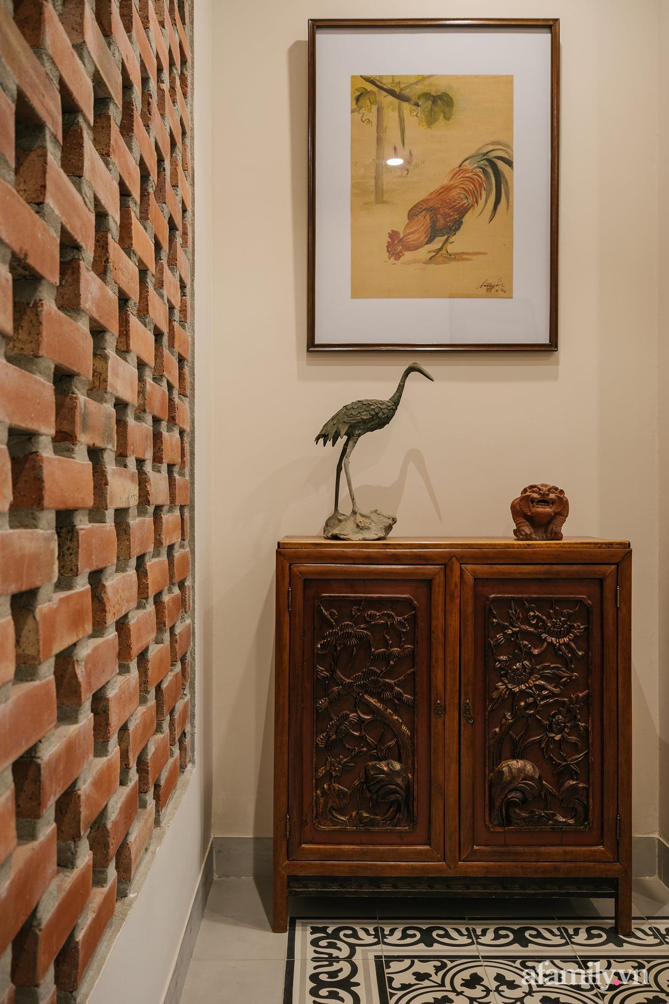 Căn nhà của miền ký ức được xây dựng từ lòng hiếu thảo của con trai dành cho bố mẹ ở Long Biên, Hà Nội - Ảnh 9.