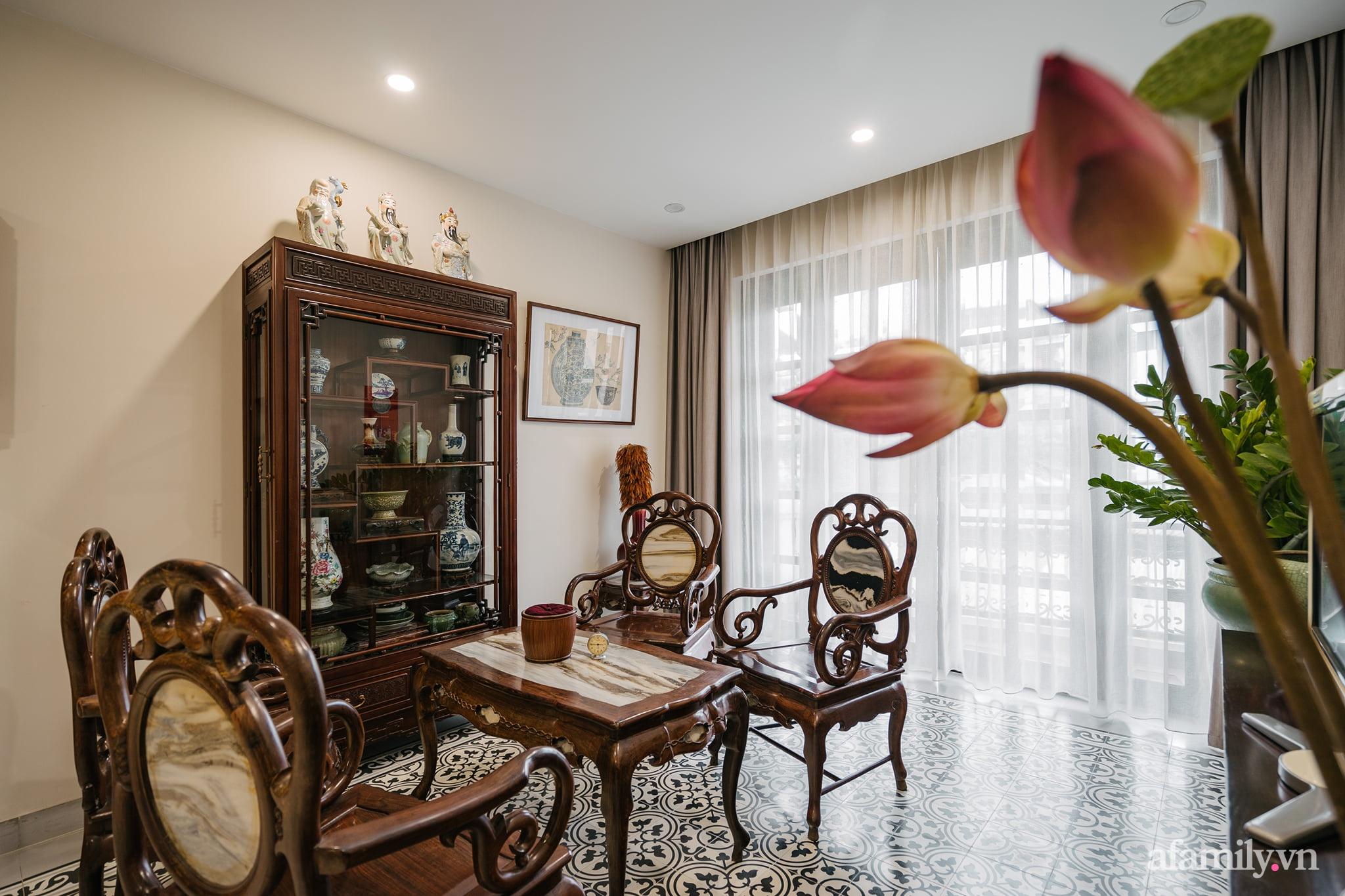 Căn nhà của miền ký ức được xây dựng từ lòng hiếu thảo của con trai dành cho bố mẹ ở Long Biên, Hà Nội - Ảnh 8.
