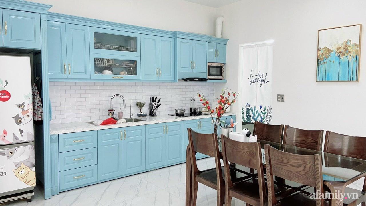 Từ lô đất méo mó vát góc, KTS thiết kế căn nhà đẹp mỹ mãn dành cho vợ chồng trẻ ở TP. Hải Dương có chi phí nội thất 150 triệu đồng - Ảnh 8.