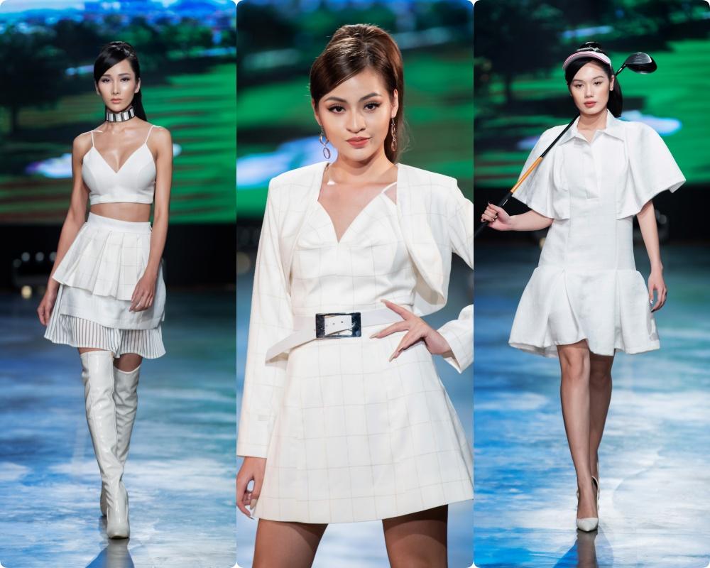 Phương Mai hóa thân thành vũ công múa cột, Võ Hoàng Yến nhảy múa tung tăng trên sàn rumway ngày cuối Fashion Festival - Ảnh 10.