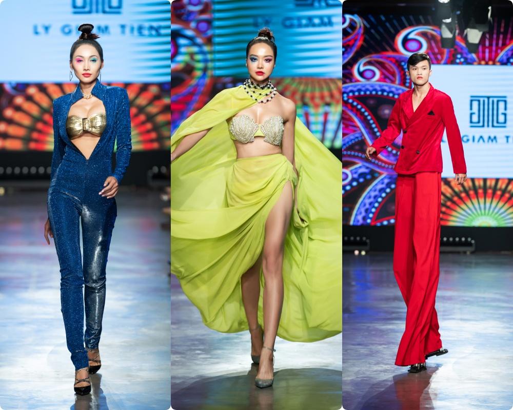 Phương Mai hóa thân thành vũ công múa cột, Võ Hoàng Yến nhảy múa tung tăng trên sàn rumway ngày cuối Fashion Festival - Ảnh 11.