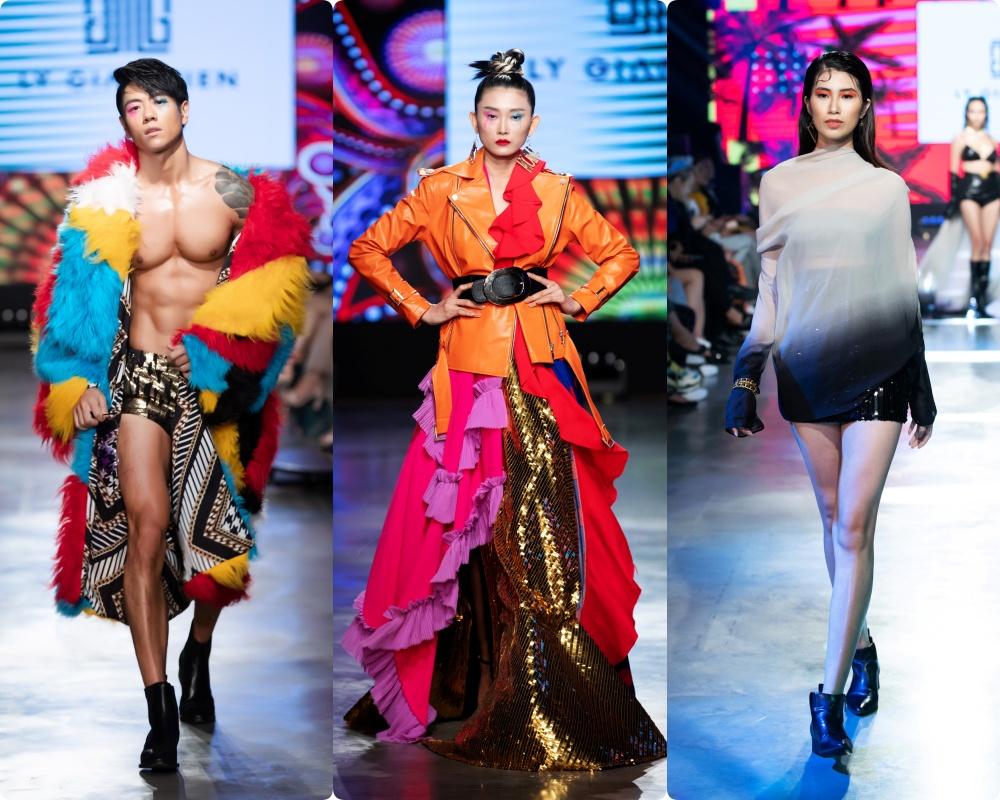 Phương Mai hóa thân thành vũ công múa cột, Võ Hoàng Yến nhảy múa tung tăng trên sàn rumway ngày cuối Fashion Festival - Ảnh 14.