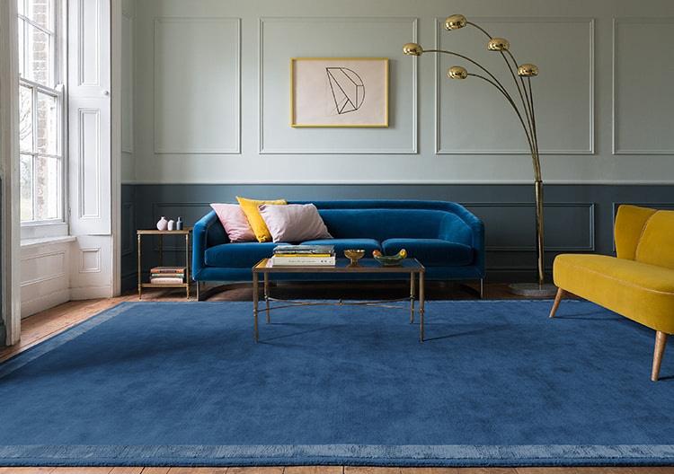 Mách bạn lựa một loạt các mẫu thiết kế thảm sofa trang trí nhà đẹp - Ảnh 1.