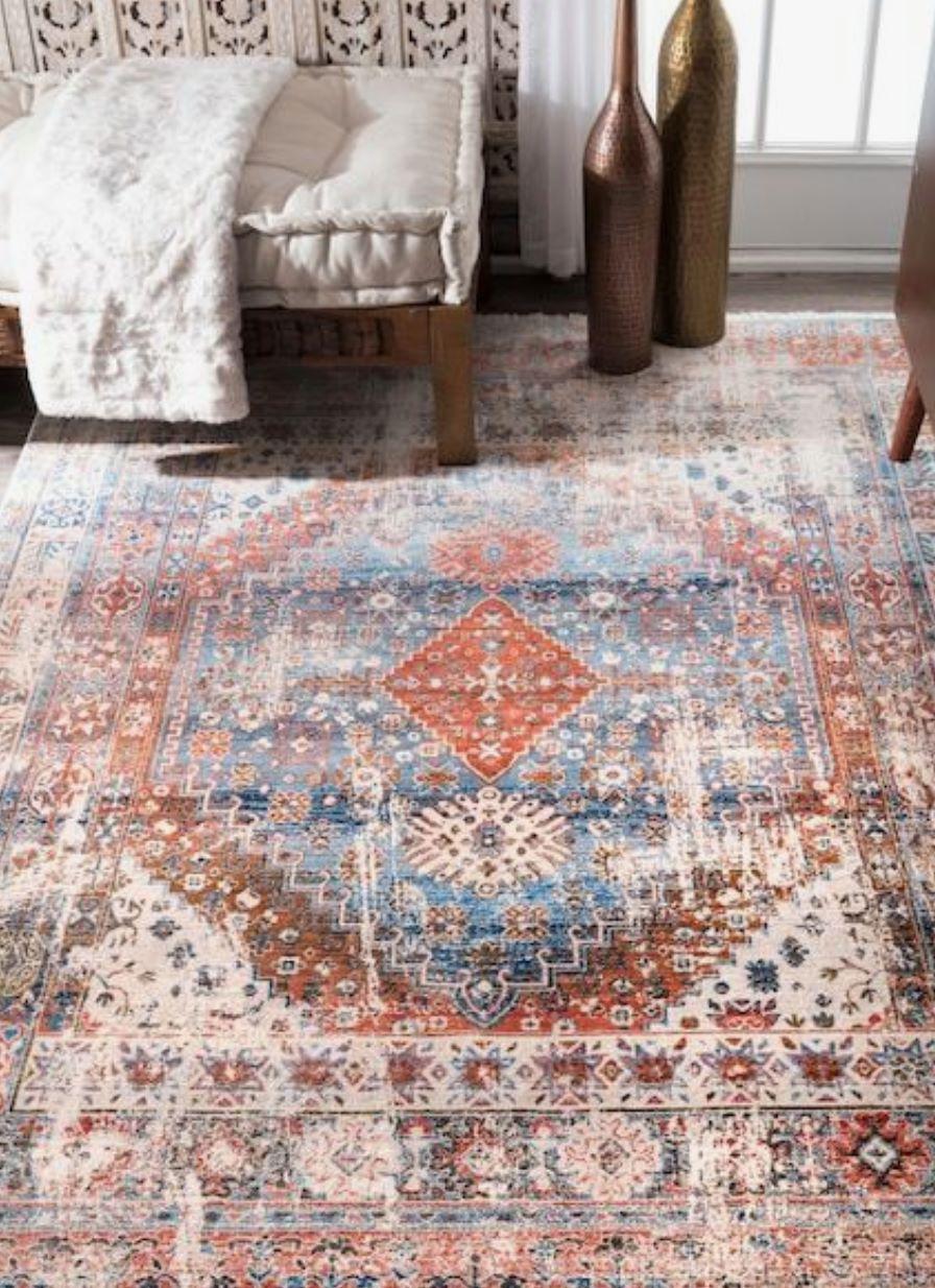 Mách bạn lựa một loạt các mẫu thiết kế thảm sofa trang trí nhà đẹp - Ảnh 2.