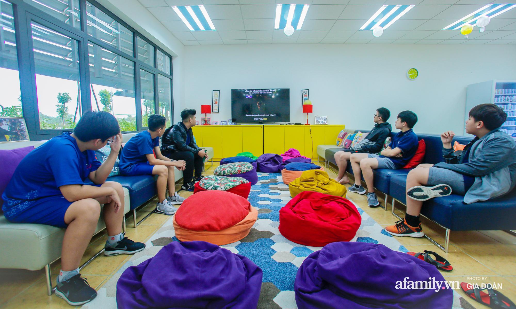 """""""Đột nhập"""" trường nội trú chuẩn quốc tế ở Hà Nội: Học phí nửa tỷ đồng/năm, con đi học một thời gian mà thay đổi 180 độ - Ảnh 14."""
