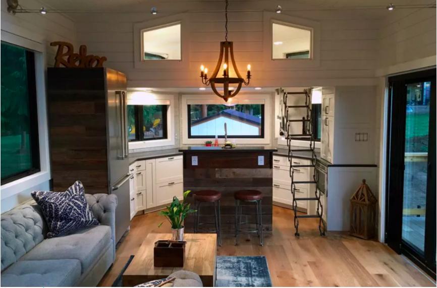 Những căn nhà siêu nhỏ vẫn đẹp hiện đại nhờ bố trí nội thất thông minh ai cũng muốn sở hữu - Ảnh 2.