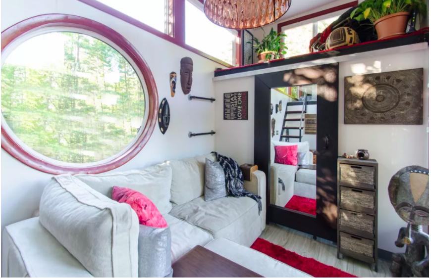 Những căn nhà siêu nhỏ vẫn đẹp hiện đại nhờ bố trí nội thất thông minh ai cũng muốn sở hữu - Ảnh 5.