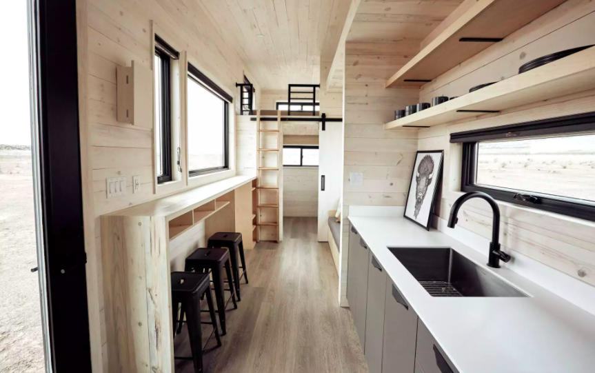 Những căn nhà siêu nhỏ vẫn đẹp hiện đại nhờ bố trí nội thất thông minh ai cũng muốn sở hữu - Ảnh 7.