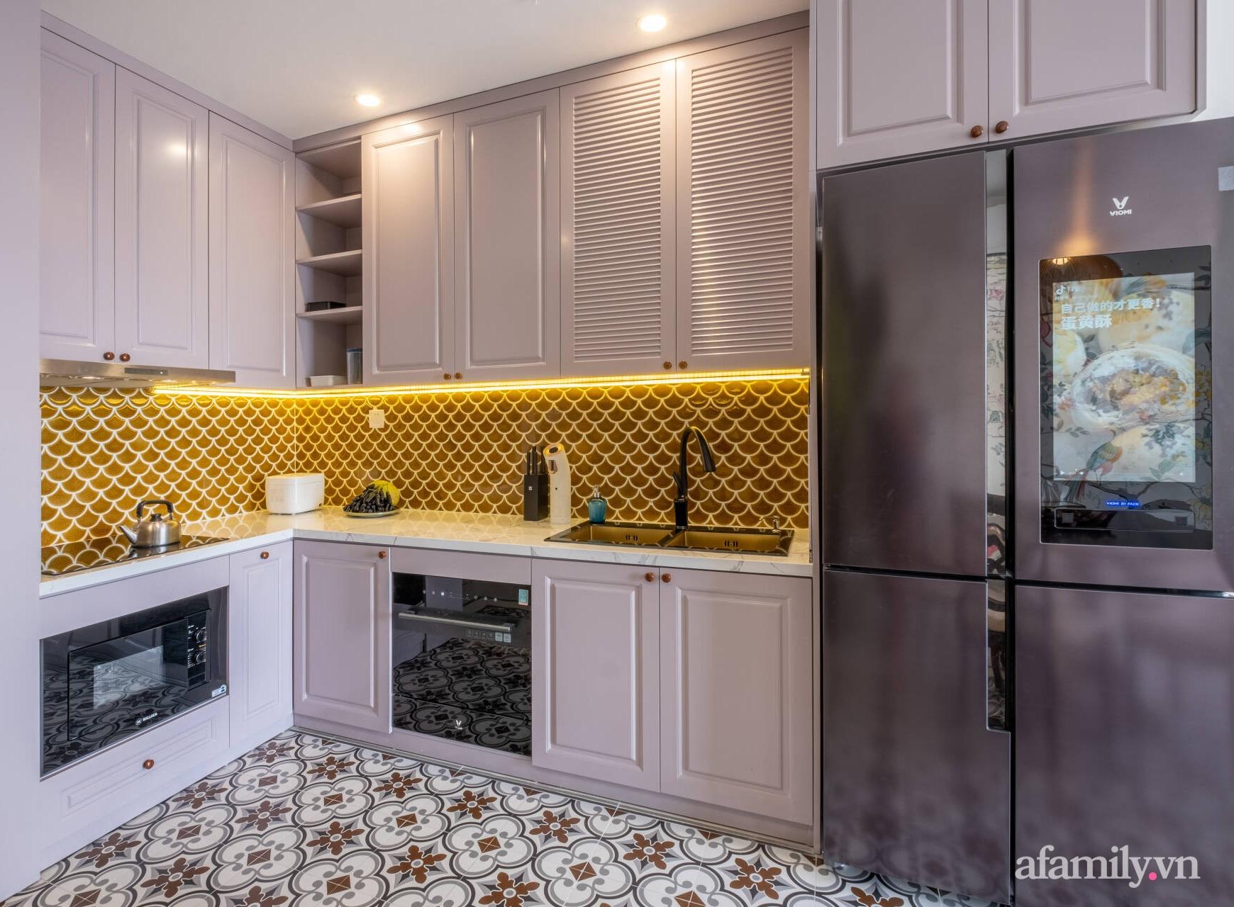 Căn hộ 3 phòng ngủ đẹp tinh tế với phong cách Indochine ở Vinhomes Ocean Park, Hà Nội - Ảnh 8.