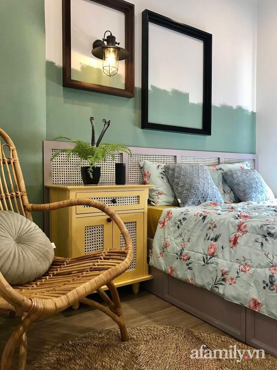 Căn hộ 3 phòng ngủ đẹp tinh tế với phong cách Indochine ở Vinhomes Ocean Park, Hà Nội - Ảnh 14.