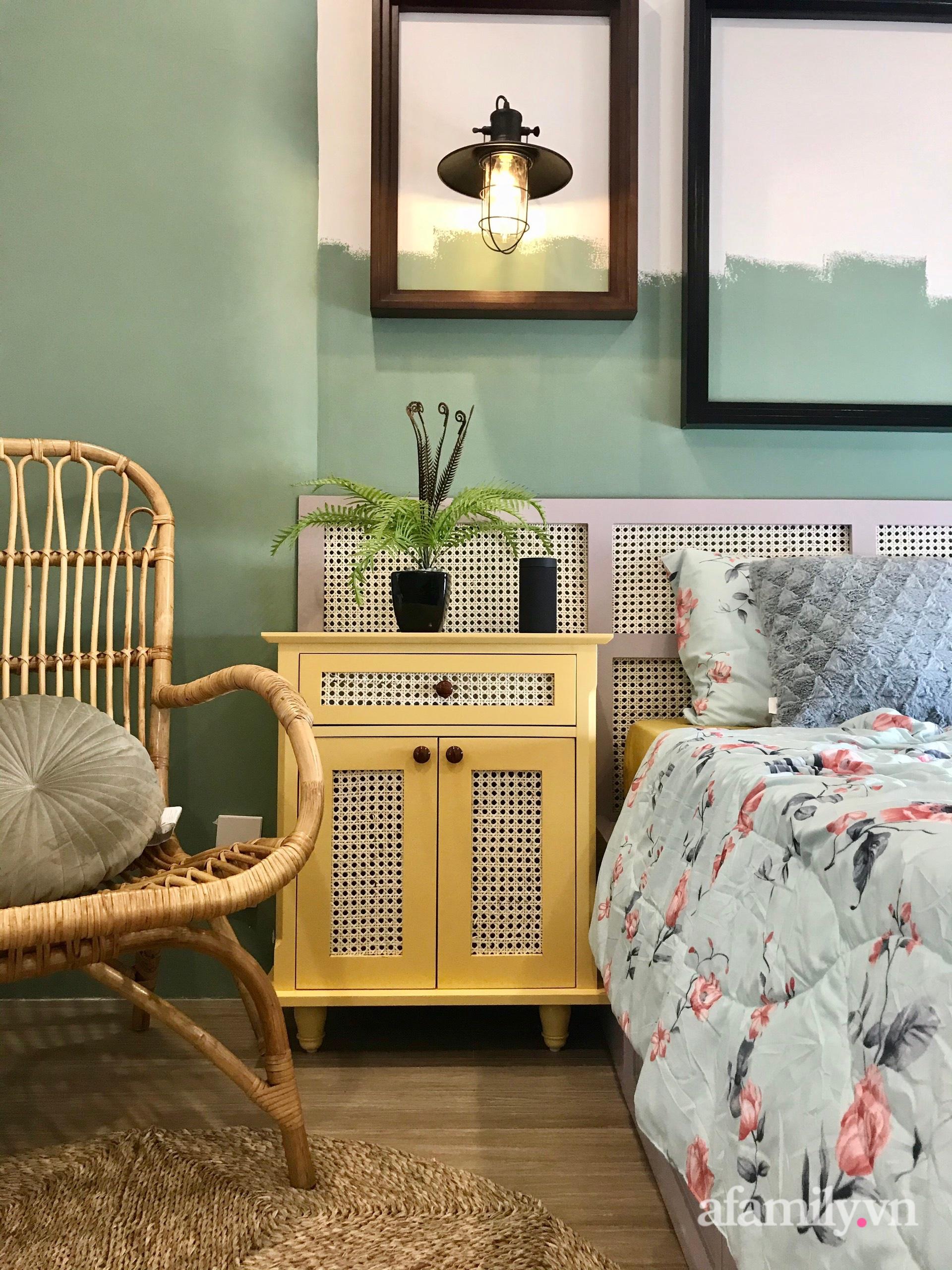 Căn hộ 3 phòng ngủ đẹp tinh tế với phong cách Indochine ở Vinhomes Ocean Park, Hà Nội - Ảnh 11.