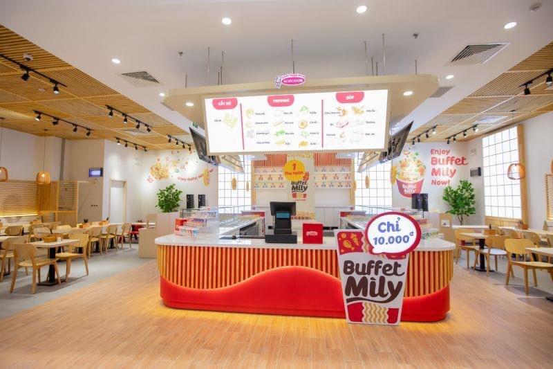 Acecook ra mắt nhà hàng buffet mỳ ly đầu tiên tại Việt Nam, giá chỉ 10.000 đồng/suất - Ảnh 2.