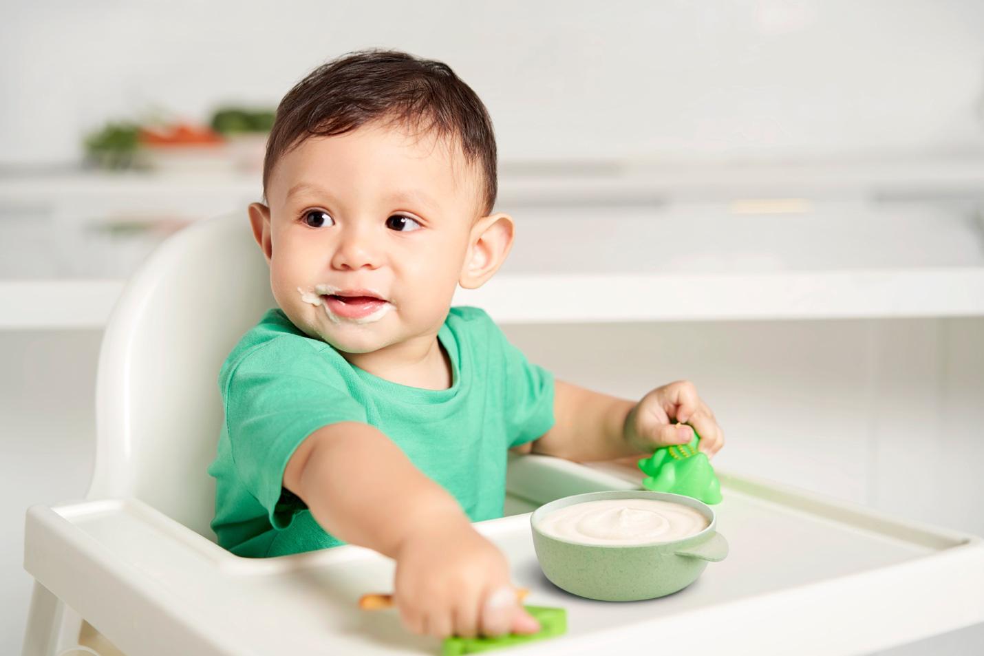 Bắt đầu ăn dặm bằng bột ngũ cốc hữu cơ để trẻ phát triển khỏe mạnh ngay từ giai đoạn đầu đời