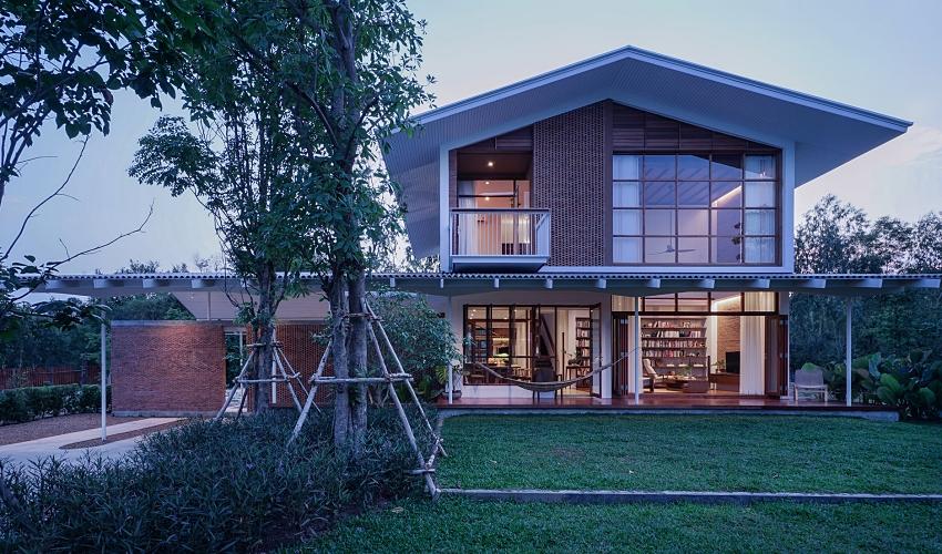 Căn nhà hai tầng đón nắng gió và cây xanh đẹp bình yên giữa chốn thôn quê ai ngắm cũng nao lòng - Ảnh 13.