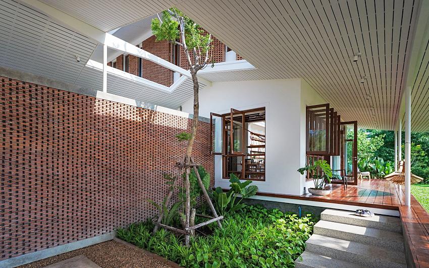 Căn nhà hai tầng đón nắng gió và cây xanh đẹp bình yên giữa chốn thôn quê ai ngắm cũng nao lòng - Ảnh 3.