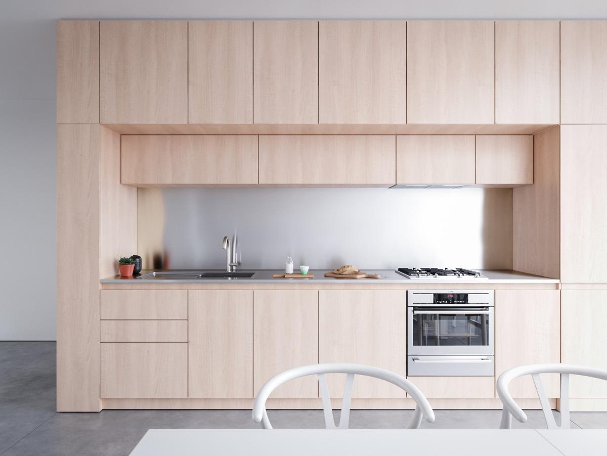 23 mẫu phòng bếp tối giản với tone màu trắng chủ đạo sẽ khiến bạn không thể không yêu - Ảnh 7.