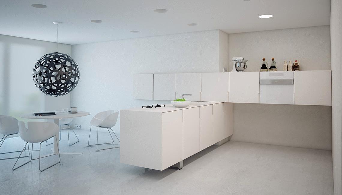 23 mẫu phòng bếp tối giản với tone màu trắng chủ đạo sẽ khiến bạn không thể không yêu - Ảnh 15.