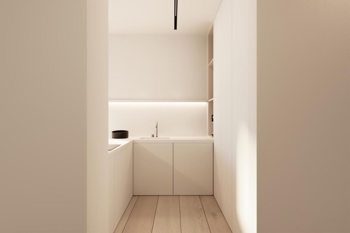 23 mẫu phòng bếp tối giản với tone màu trắng chủ đạo sẽ khiến bạn không thể không yêu - Ảnh 19.