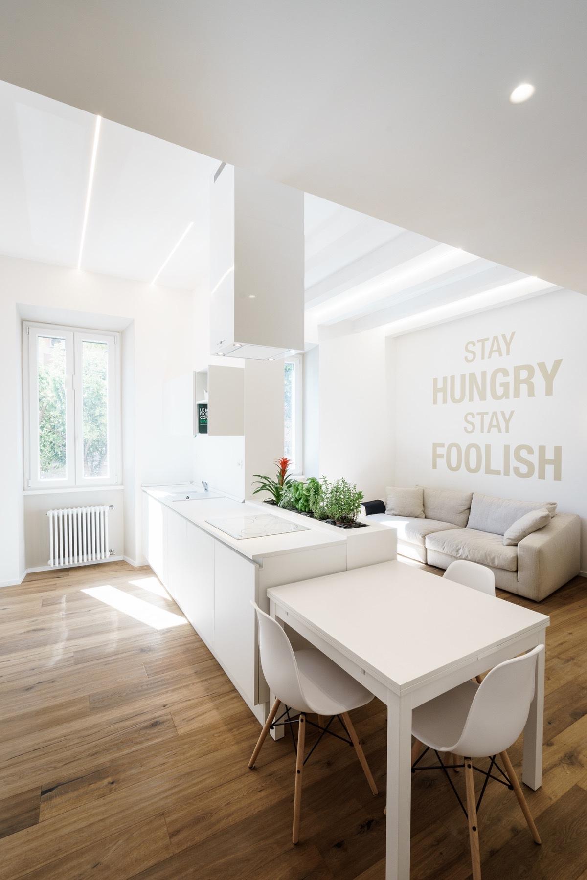 23 mẫu phòng bếp tối giản với tone màu trắng chủ đạo sẽ khiến bạn không thể không yêu - Ảnh 22.