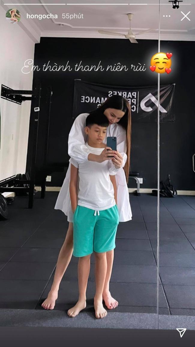 Subeo 10 tuổi đã cao vượt trội, trong cách nuôi con của Hồ Ngọc Hà có 1 điểm mẹ nào muốn con cao thì nên học hỏi - Ảnh 1.