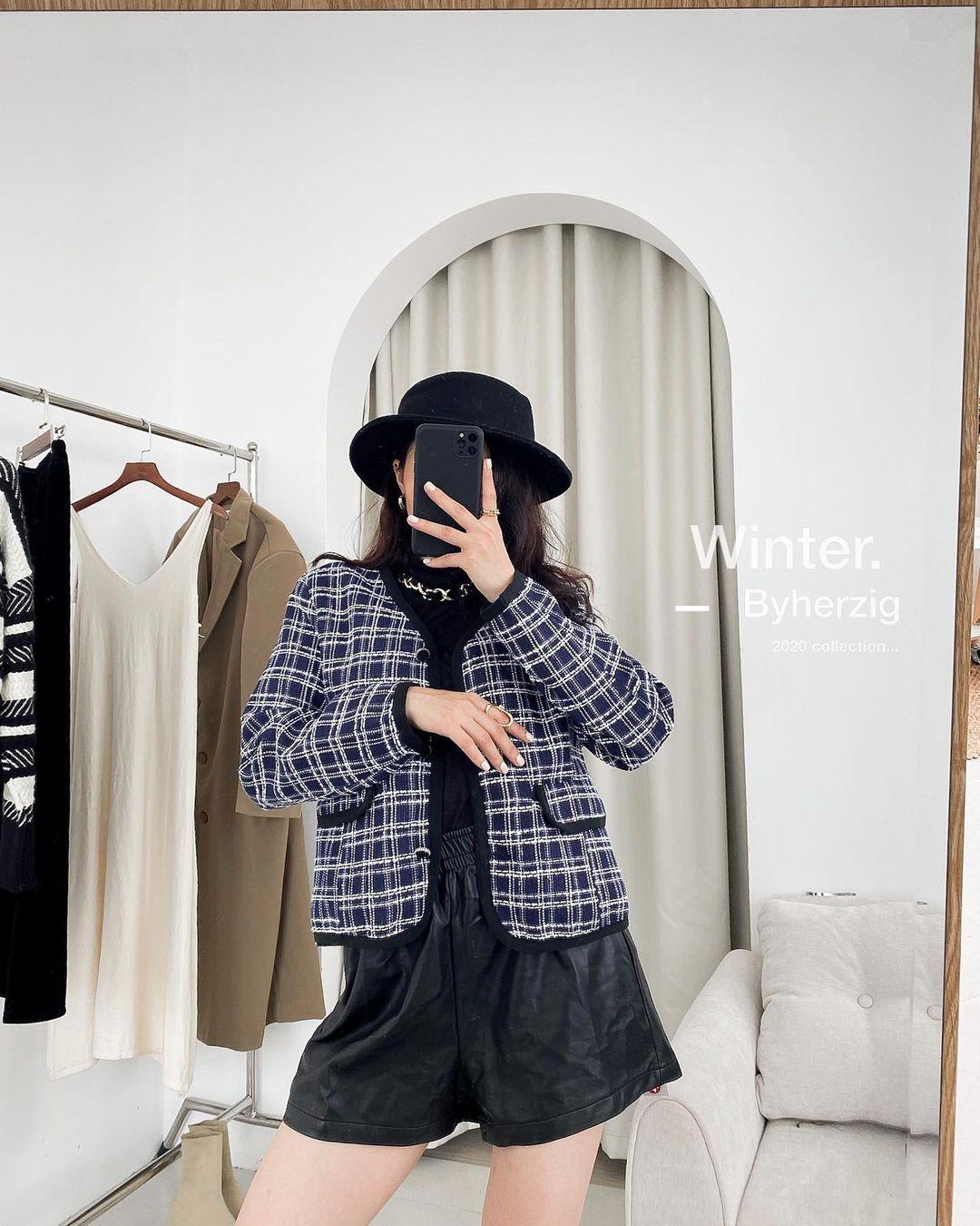 """Song Hye Kyo, Lan Khuê, Thanh Hằng """"đại chiến"""" với áo khoác vải tweed: Hot item đáng sắm nhất lúc này đây rồi - Ảnh 11."""