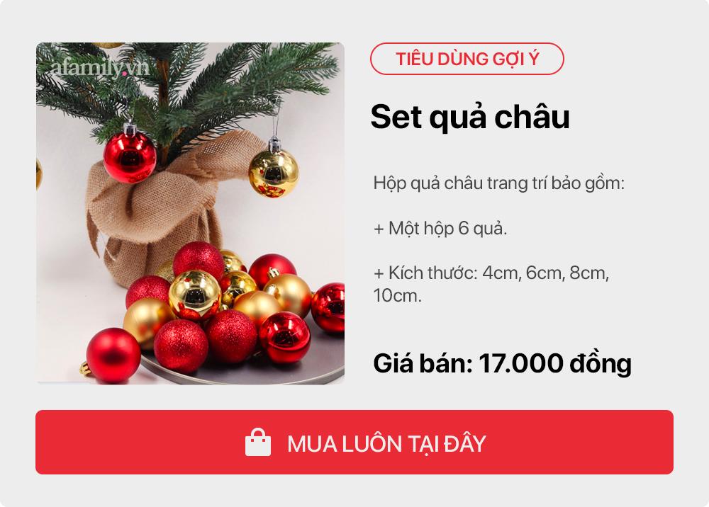 Giáng sinh tới gần: Tư vấn các sản phẩm trang trí cho cây thông đặt phòng khách tiết kiệm nhất, chi phí chỉ gần 450 nghìn đồng - Ảnh 5.