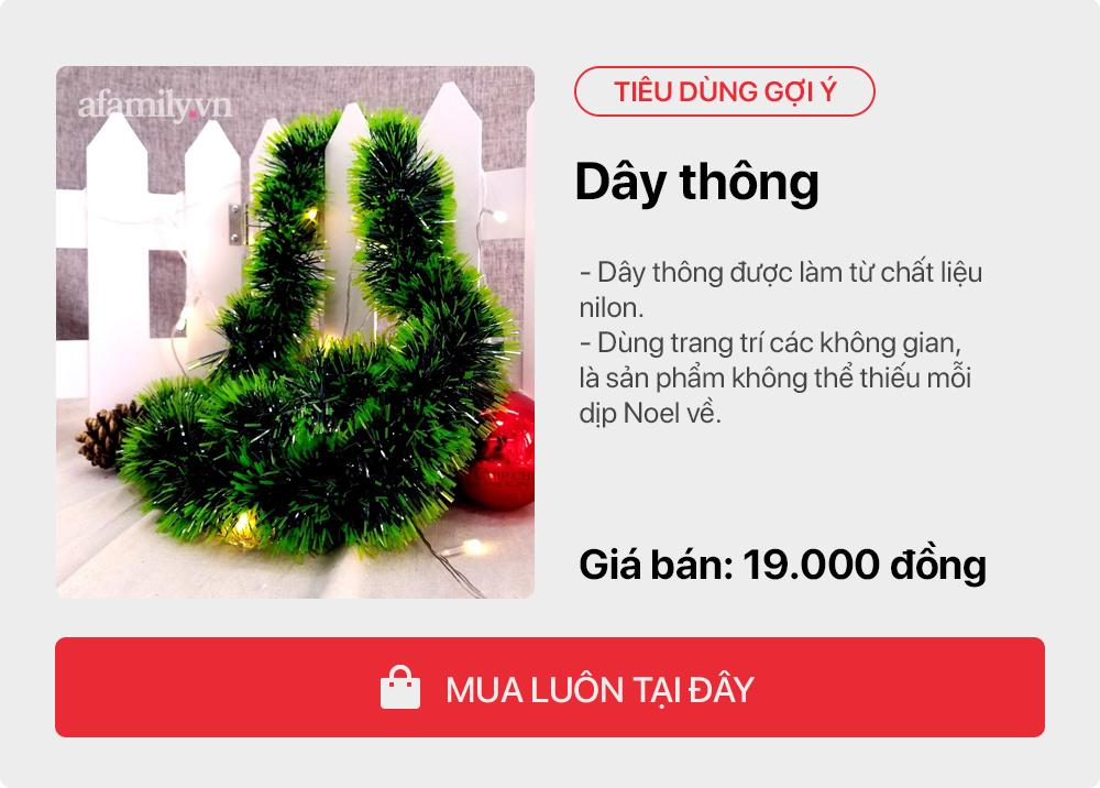 Giáng sinh tới gần: Tư vấn các sản phẩm trang trí cho cây thông đặt phòng khách tiết kiệm nhất, chi phí chỉ gần 450 nghìn đồng - Ảnh 6.
