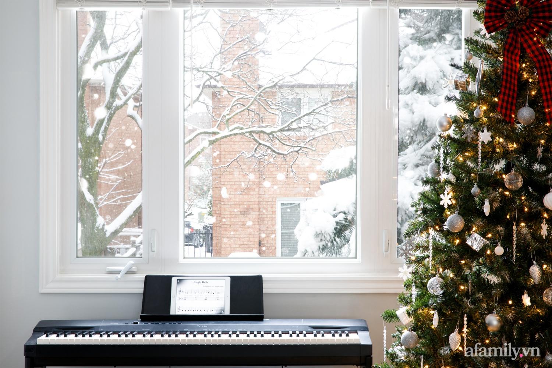 Căn bếp trắng – đỏ đẹp bình an đón Giáng sinh về của mẹ Việt ở Canada - Ảnh 18.