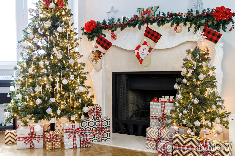 Căn bếp trắng – đỏ đẹp bình an đón Giáng sinh về của mẹ Việt ở Canada - Ảnh 17.