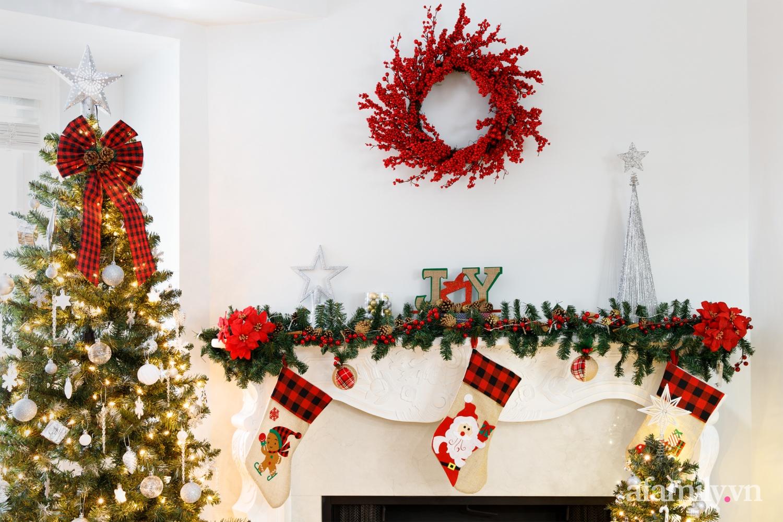 Căn bếp trắng – đỏ đẹp bình an đón Giáng sinh về của mẹ Việt ở Canada - Ảnh 16.
