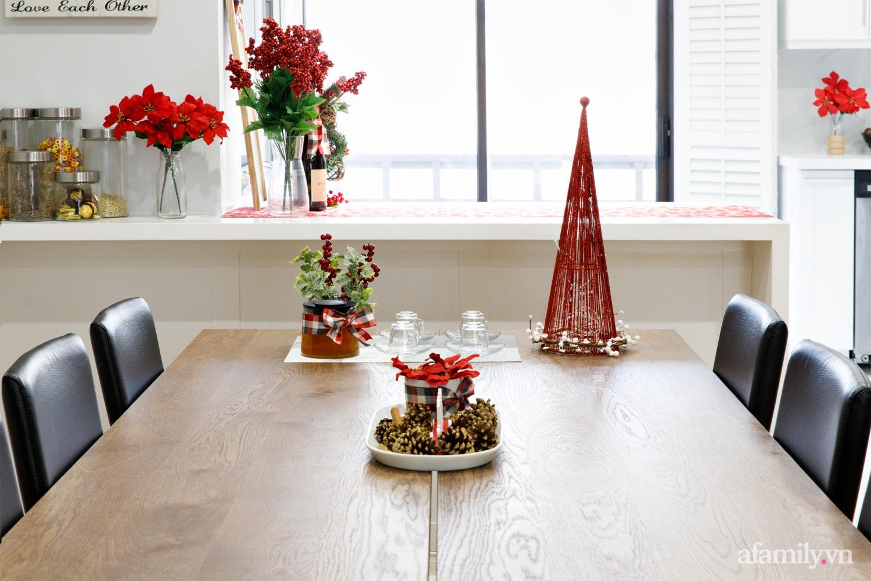 Căn bếp trắng – đỏ đẹp bình an đón Giáng sinh về của mẹ Việt ở Canada - Ảnh 14.