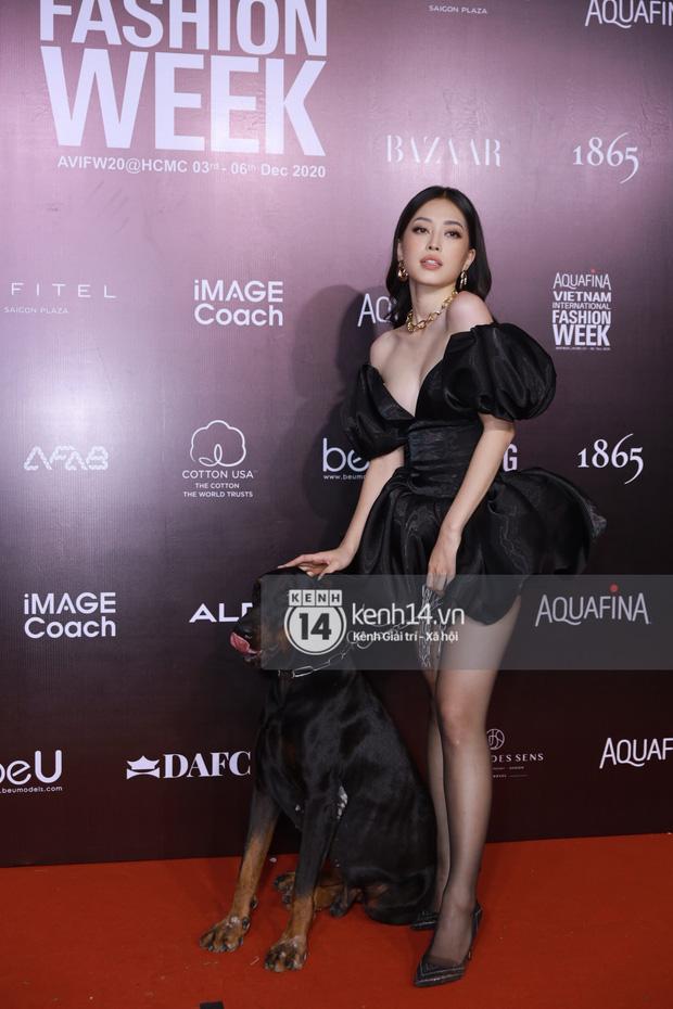 Loạt sao diện style hỏi chấm tại Fashion Week: Diệp Linh Châu hủy diệt vòng 1, Hari Won makeup lem nhem còn Lynk Lee mặc gì thế này? - Ảnh 10.