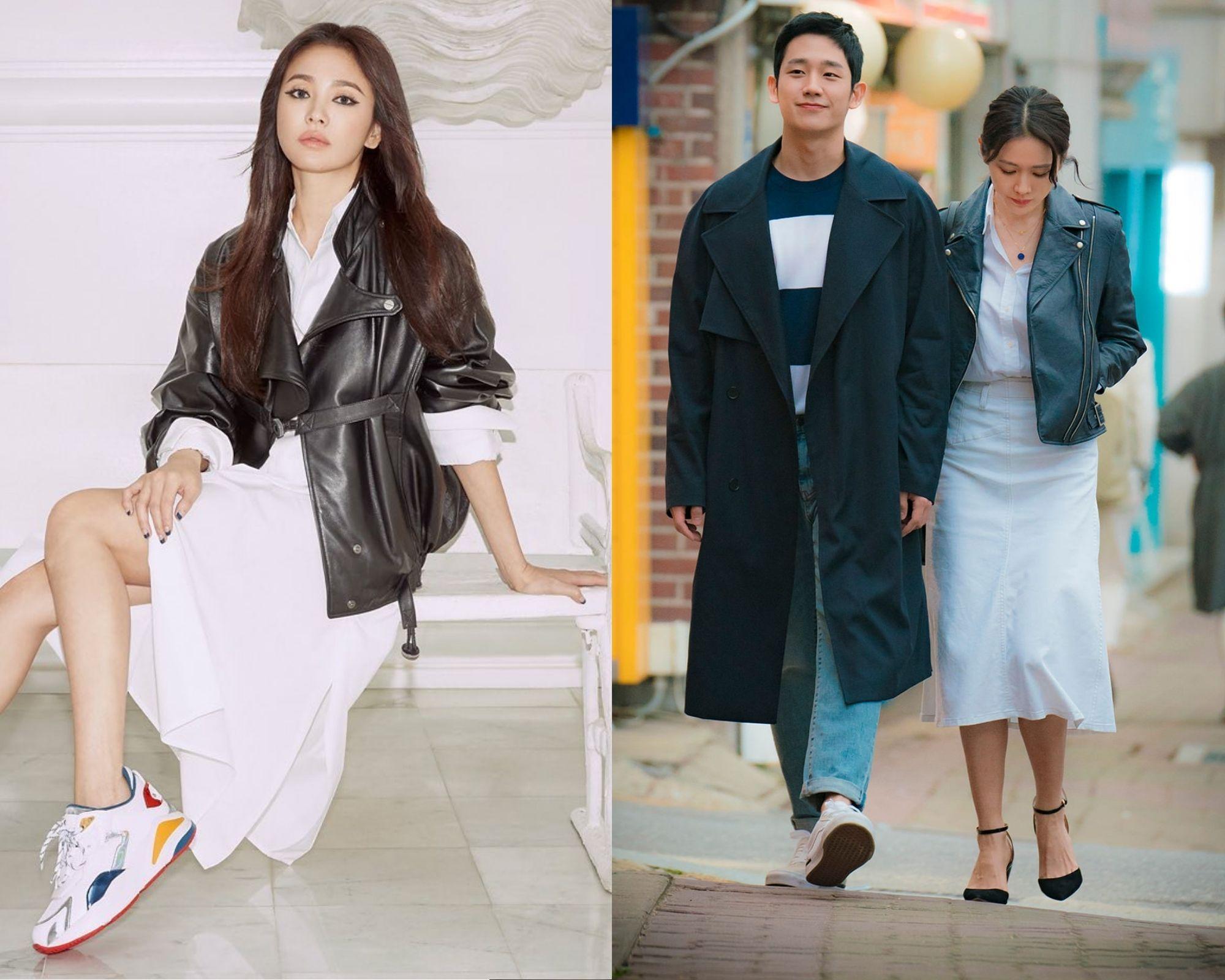 """Ai mà ngờ Song Hye Kyo lớn tuổi hơn Son Ye Jin vì cô trẻ trung lấn át cả """"chị đẹp"""" khi chung ý tưởng diện đồ - Ảnh 6."""