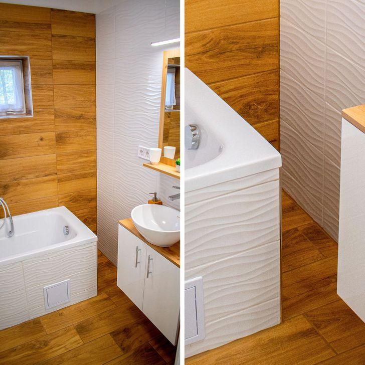 Những mẹo đơn giản dễ làm biến phòng tắm tẻ nhạt thành không gian thư giãn ở khách sạn sang chảnh - Ảnh 11.