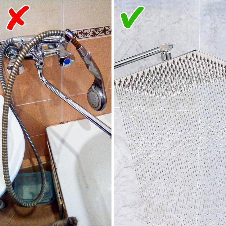 Những mẹo đơn giản dễ làm biến phòng tắm tẻ nhạt thành không gian thư giãn ở khách sạn sang chảnh - Ảnh 2.