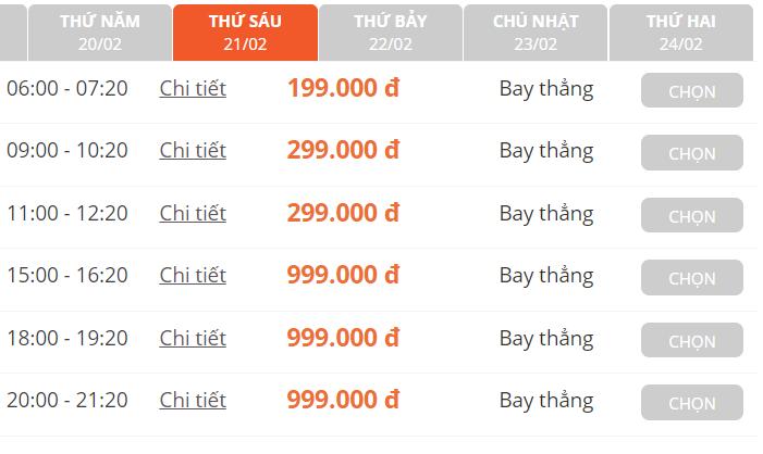 Giá vé máy bay thấp kỉ lục chưa từng có trong cả chục năm trở lại đây, Hà Nội - Hồ Chí Minh chỉ còn 199.000 đồng - Ảnh 3.