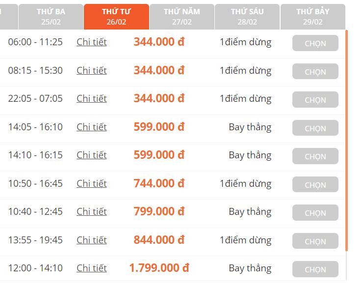 Giá vé máy bay thấp kỉ lục chưa từng có trong cả chục năm trở lại đây, Hà Nội - Hồ Chí Minh chỉ còn 199.000 đồng - Ảnh 6.